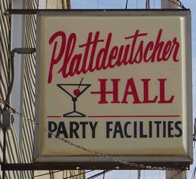 Plattdeutscher Hall