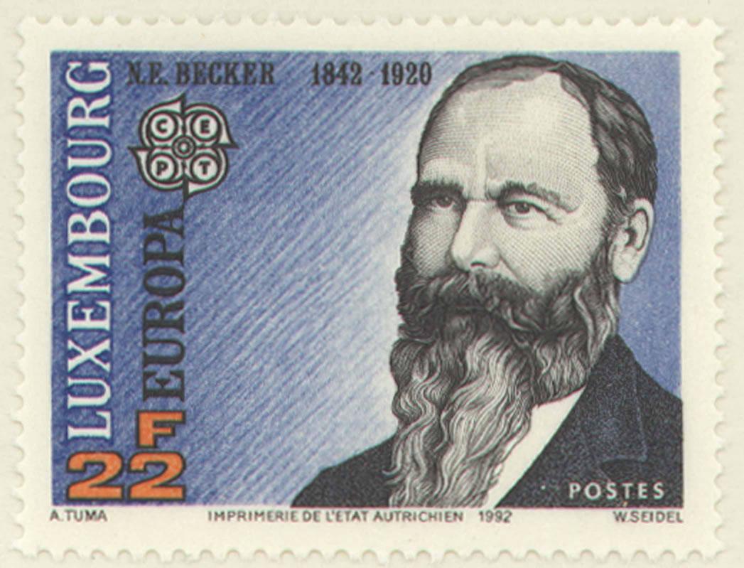 Nicholas Becker stamp