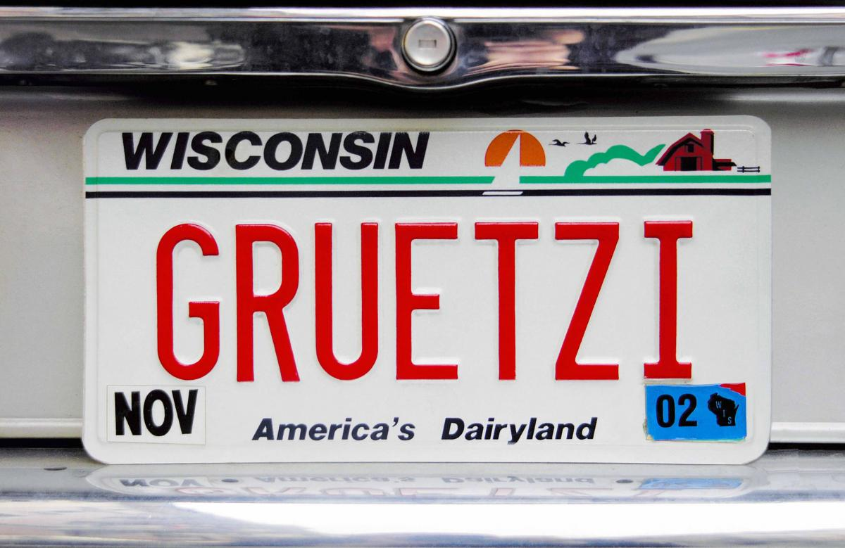 WI Swiss license plate