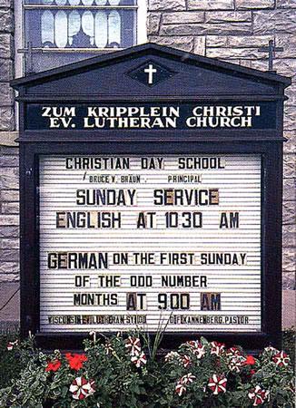 Zum Kripplein Christi